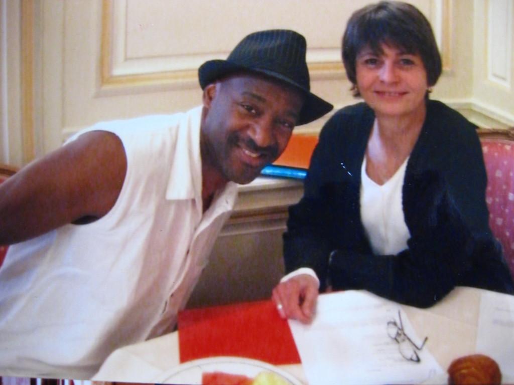 Daniéle with Marcus Miller
