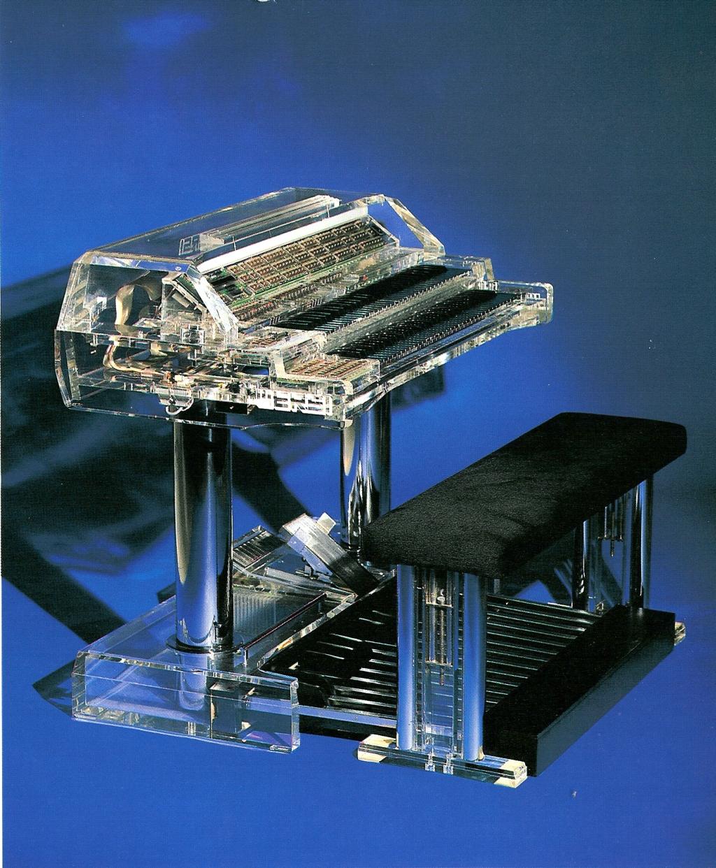 The Wersi Delta DX 500 organ